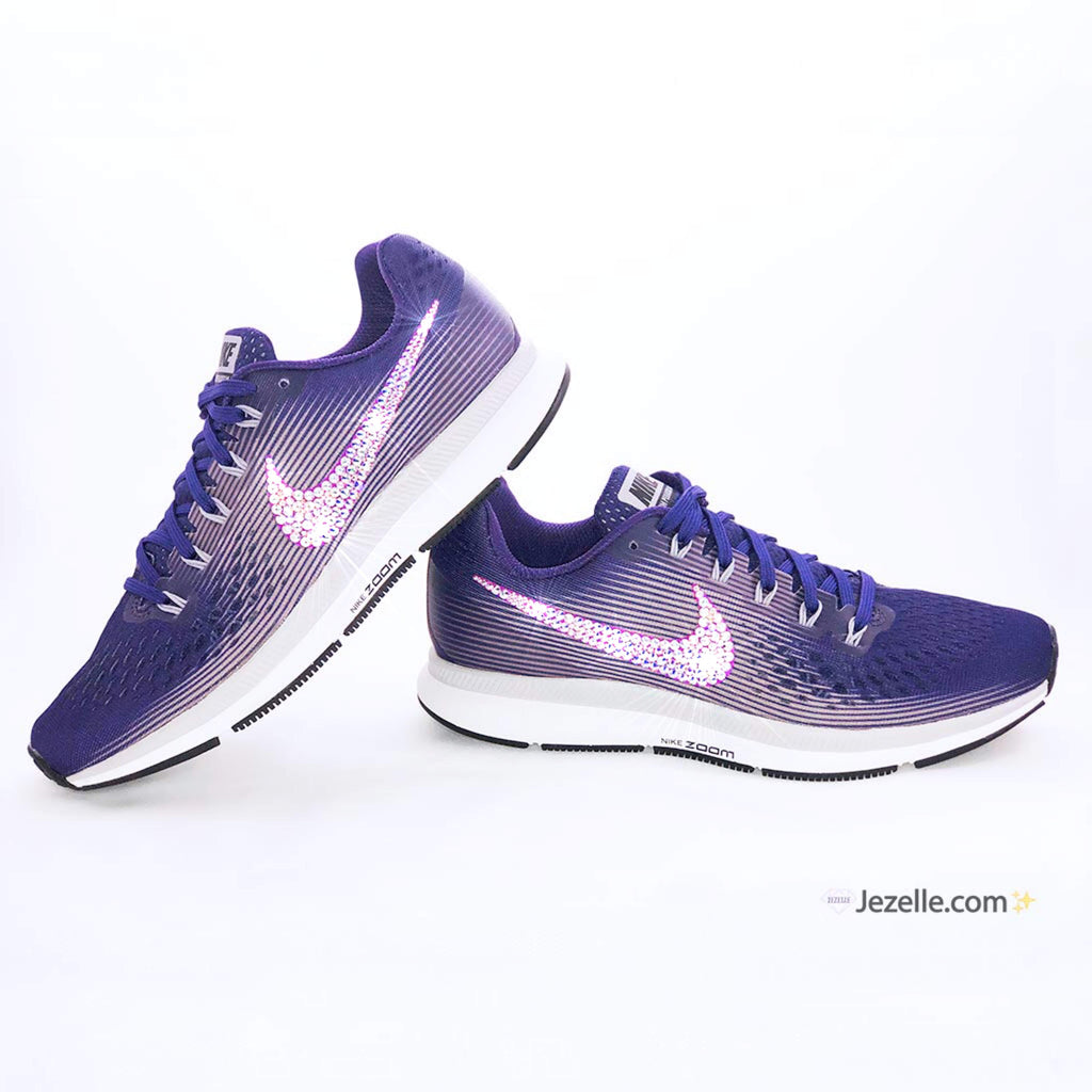 ea2bb33d7b1 Swarovski Nike Air Zoom Pegasus 34 - Limited Edition PURPLE ...