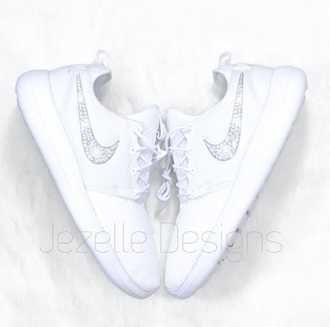 Image of BLing Nike Roshe 2 white