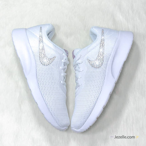 Nike Shoes with Diamond Swoosh
