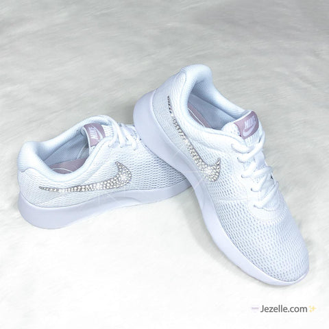 Image of Nike Shoes with Glitter Swoosh