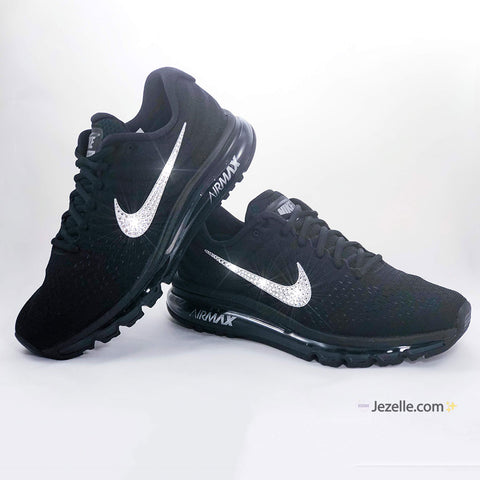 Nike Shoes with Rhinestone Swoosh