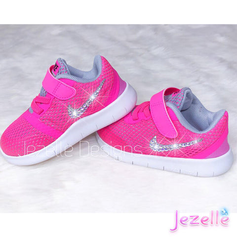 Blinged Out Baby Nikes