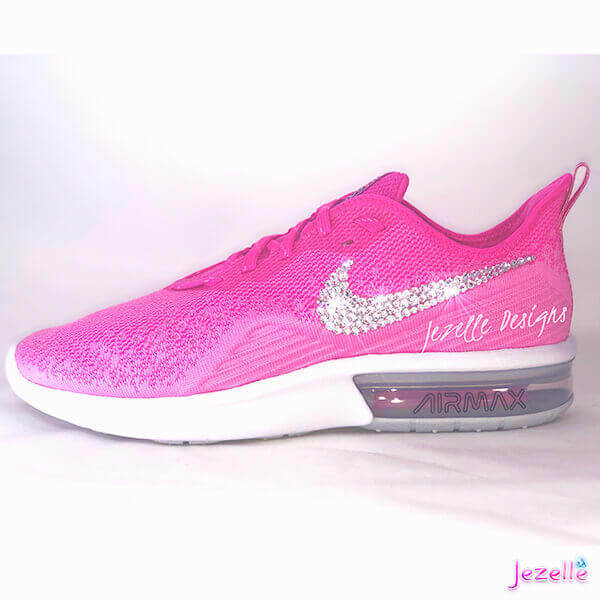 Pink Nike Air Max Sequent 4 w