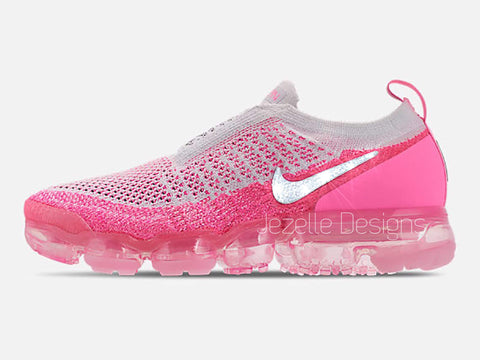 Image of Nike Air Vapormax Flyknit MOC 2 - Pink Beam/White