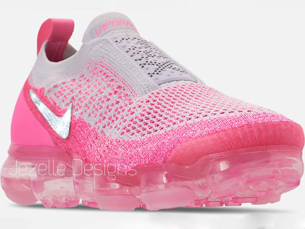 Nike Air Vapormax Flyknit MOC 2 - Pink Beam White – Jezelle.com 756c490702