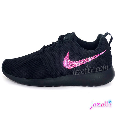 Image of Black Nike Pink Roshe