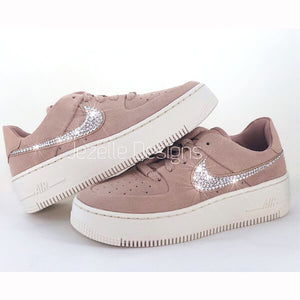 Nike Air Force Bling Shoes