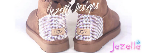 Image of Classic TALL Uggs® with Swarovski Crystals®