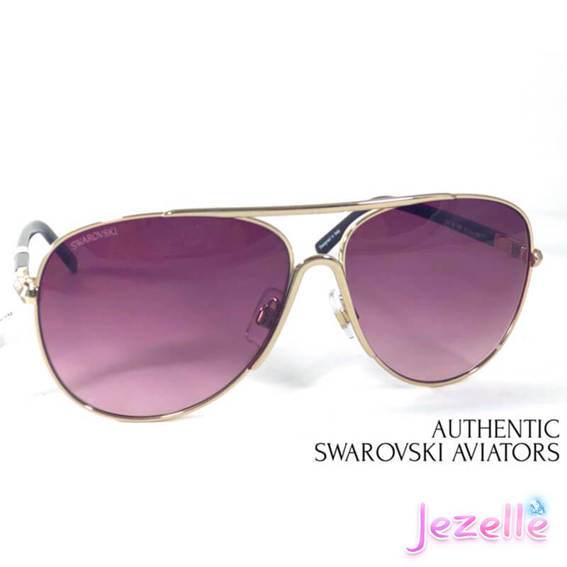 Aviator Sunglasses By Swarovski