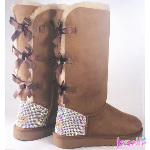 Image of Uggs that are Blinged Out