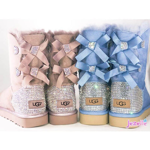 Image of Swarovski Crystal Uggs Bailey Bow 2