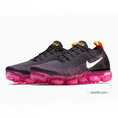 Nike Air Vapormax Flyknit 2 - Black/Pink Blast/Laser Orange/Gridiron