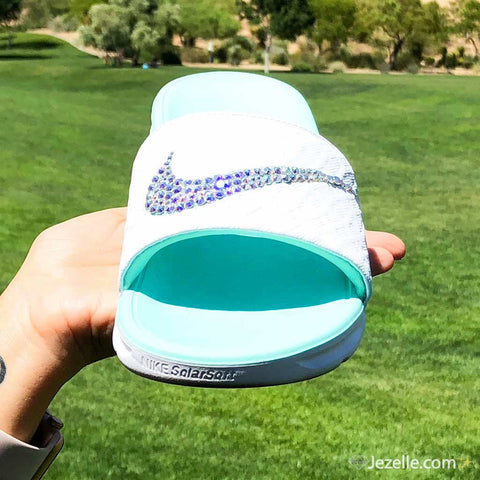 Image of Tiffany Blue Sandals Wedding