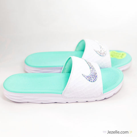 Image of Tiffany Colored Shoes