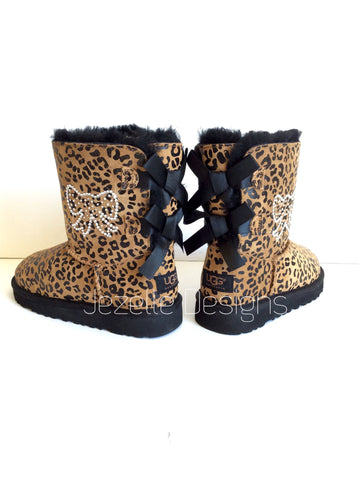 Kid's Authentic UGGS -Personalized with Genuine Swarovski Crystals