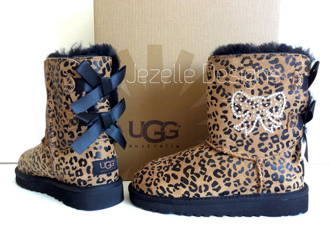 Image of Kid's Authentic UGGS -Personalized with Genuine Swarovski Crystals