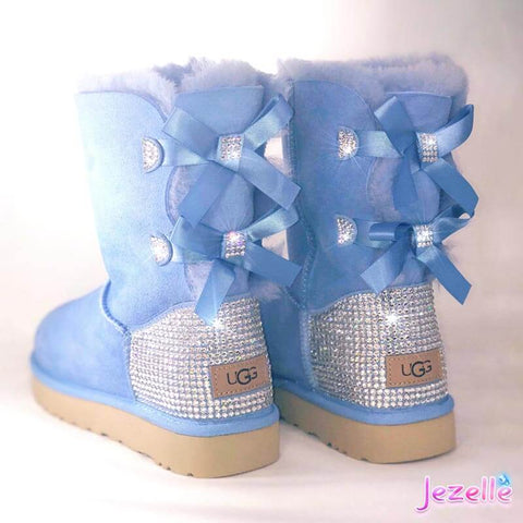 Image of Uggs Mini Bailey Bow Swarovski