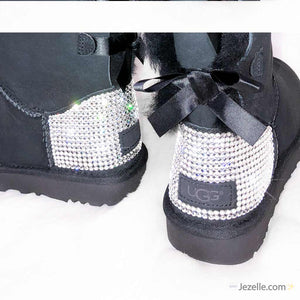 Custom Bailey Bow Uggs® TALL with Swarovski Crystals®