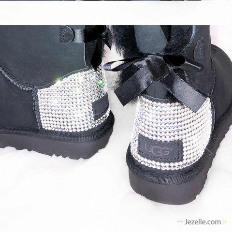 Image of Uggs with Swarovski Crystals