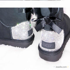 Custom Bailey Bow Uggs® with Swarovski Crystals® (TALL STYLE)