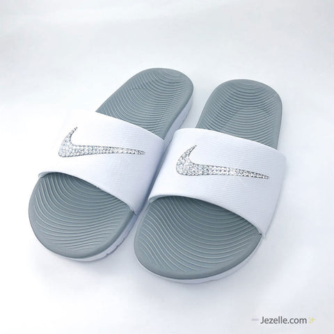 Image of Glitter Nike Slides