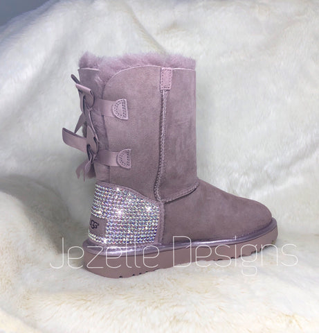 Image of Pink Bling Ugg Boots