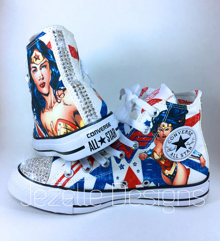 Image of Wonder Woman Converse