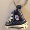 Image of Navy Blue Bling Key Chain