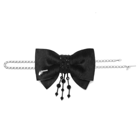 Mulholland Bow Tie Chain by Jacky Black