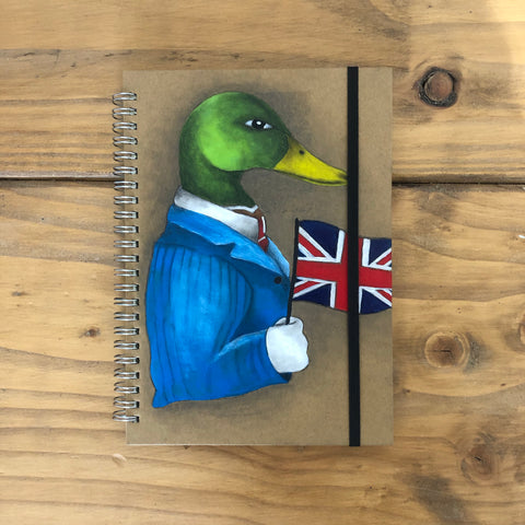 British Duck Notebook