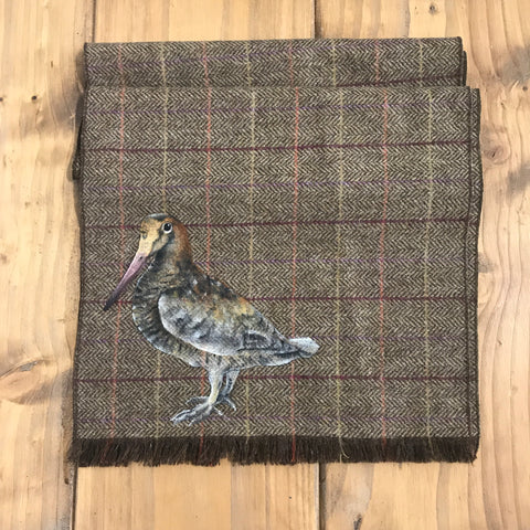 S.Entwistle British Tweed Woodcock Scarf