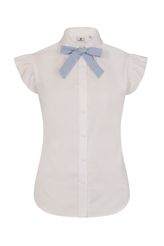 S.Entwistle Short Sleeved Ruffle Shirt