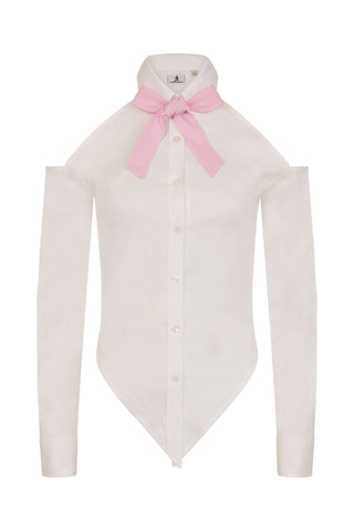S.Entwistle Knotted Shirt (pink)