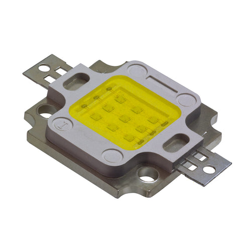 10W Bridgelux Cool White High Power LED Component 9000k 15000k COB