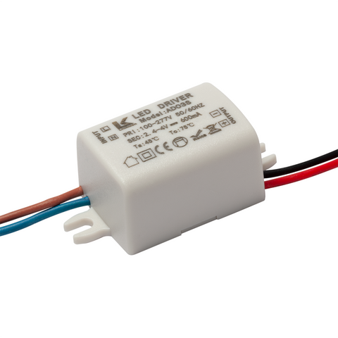 2W (600mA) / 2.4 - 4v Constant Current LED Driver - futureeden.co.uk