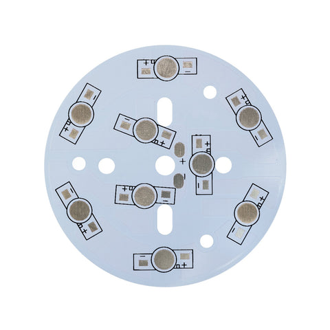 78mm Circular LED PCB (9 LED in series) - futureeden.co.uk