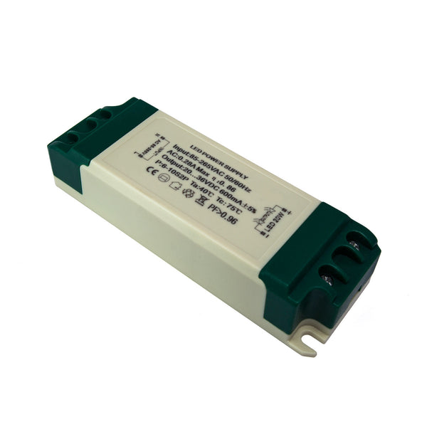 Constant Current LED Driver (600mA) 20W / 20 - 36v