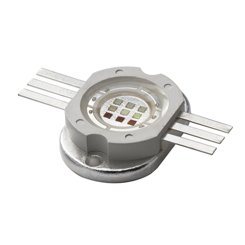 10W RGB High Power LED components Red, Green, Blue 3 pin COB.