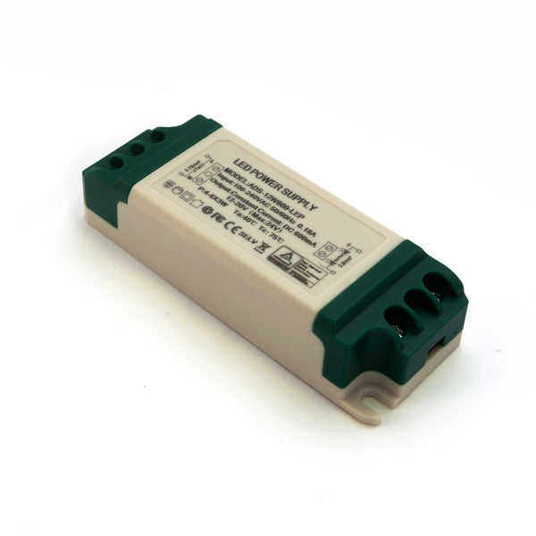 12W Constant Current LED Driver (600mA) / 12-20v