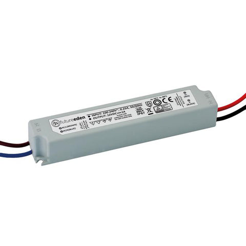 12W Constant Voltage IP67 LED Driver 12v DC - 5 Year Warranty - futureeden.co.uk