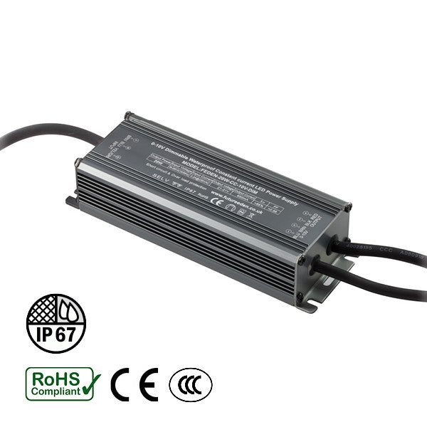 20W IP67 Dimmable Constant Current LED Driver (650mA, 21-31v) - futureeden.co.uk