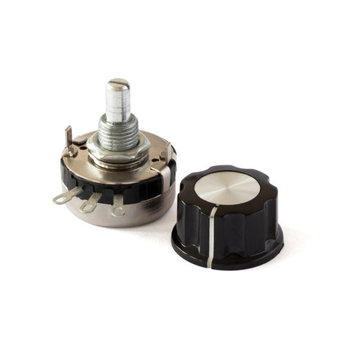 100k 2W Potentiometer and Knob Assembly for dimming LED driver