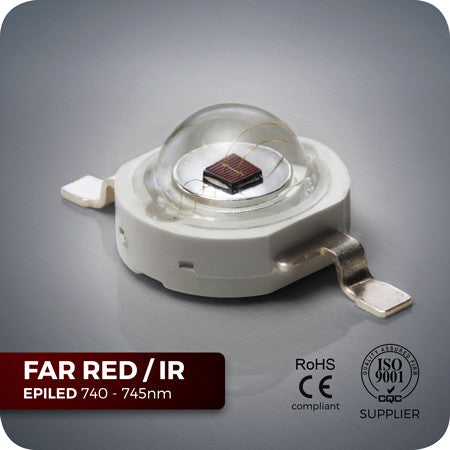 Infra Red High Power LED Components for PCB 740nm to 745nm