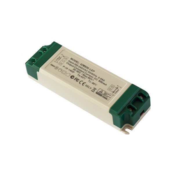 40W Constant Current LED Driver (800mA) 30-50v