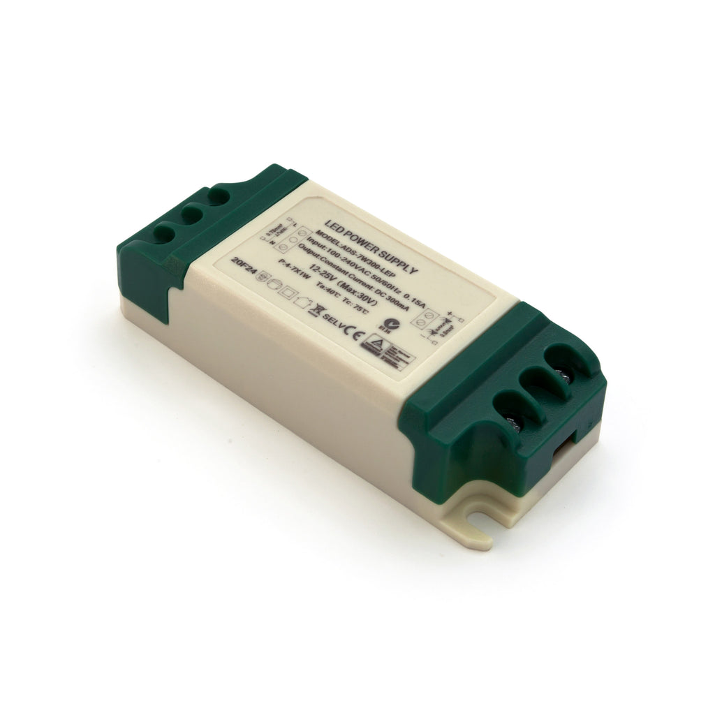 7w 300ma Constant Current Led Driver 12 25v Power Supply Transformer Drives Two 3 Watt Ledselectronics Project Circuts
