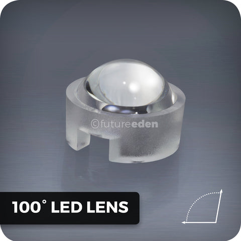 100° degree LED lens for homemade grow lights and aquarium lighting