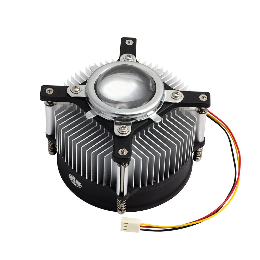 LED Lens, Heatsink and 12v Fan Assembly - futureeden.co.uk