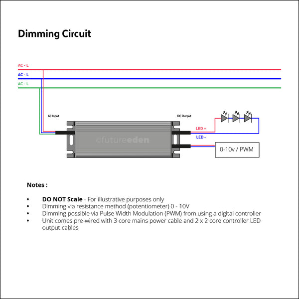 30W IP67 Dimmable Constant Current LED Driver (650mA, 36-46v)
