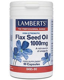 Lamberts Flax Seed Oil supplements
