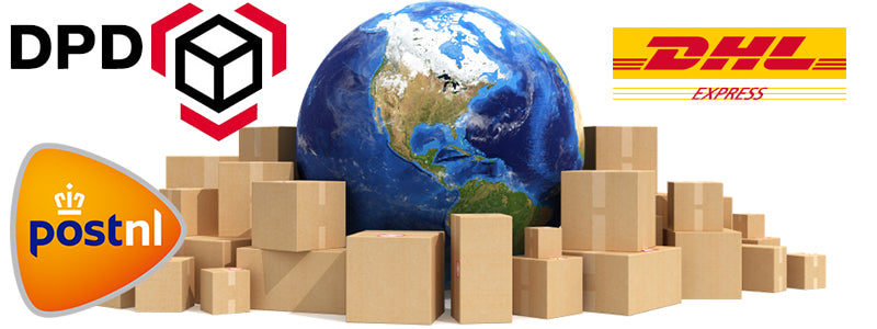 Shipping policy Fashionjunks.com. Worldwide shipping with PostNL Global, DHL Express, DPD for Europe. Read everything about our shipping policy here.
